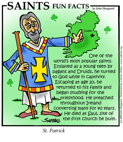 St. Patrick Fun Fact