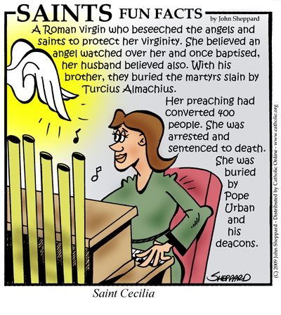 St. Cecilia Fun Fact Image