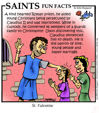 saints fun facts for st valentine - Saint Valentine Prayer