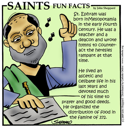 Saints Fun Facts for St. Ephrem