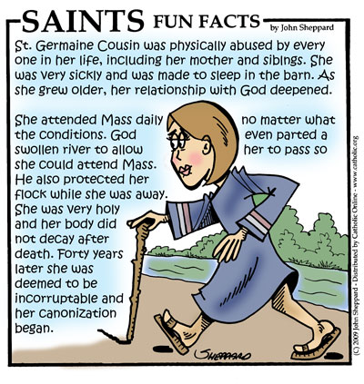 Saints Fun Facts for St. Germaine Cousin