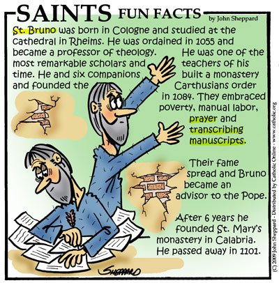 Saints Fun Facts for St. Bruno