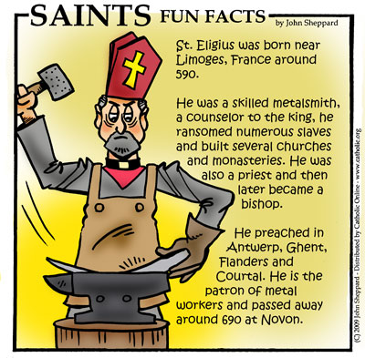 St. Eligius Fun Fact Image