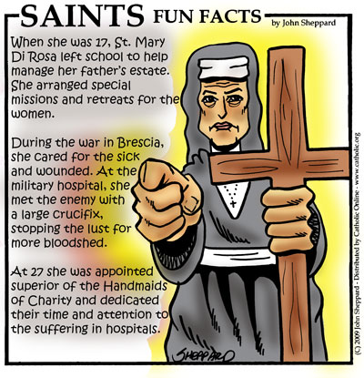 Saints Fun Facts for St. Mary Di Rosa