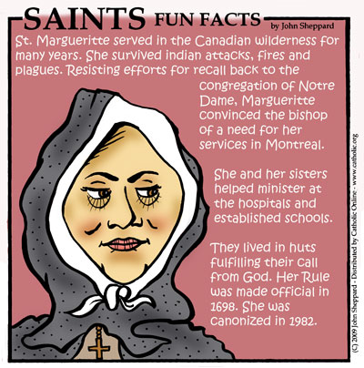 Saints Fun Facts for St. Marguerite Bourgeoys