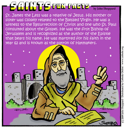 Saints Fun Facts for St. James the Lesser